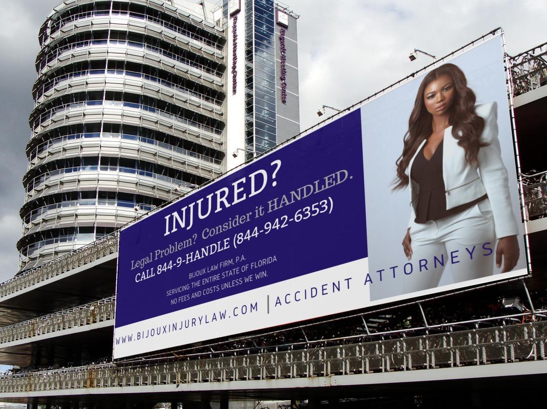 final industrial billboard blue